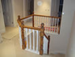 Hand made staircase from Woodleigh nr Loddiswell