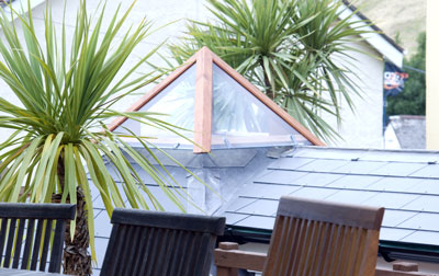 slate roof extension salcombe